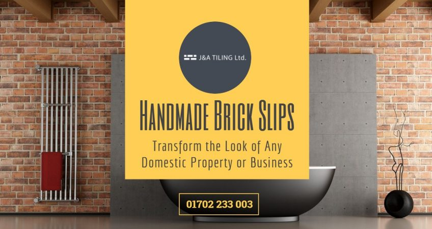 Handmade Brick Slips - Transform the Look of Any Domestic Property or Business