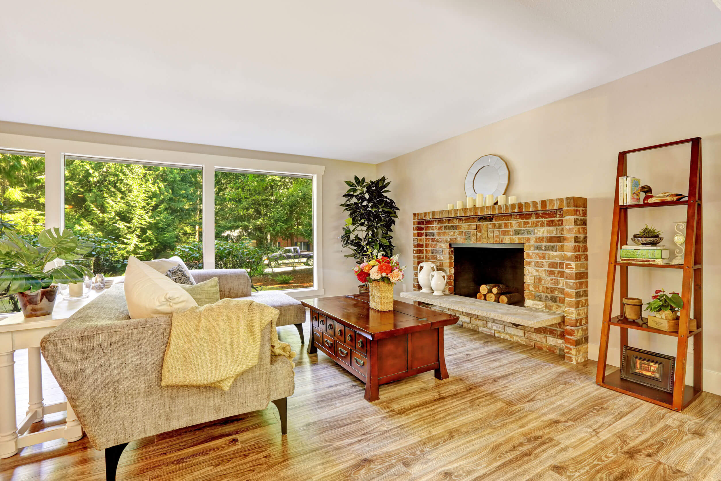 fireplace brick slips
