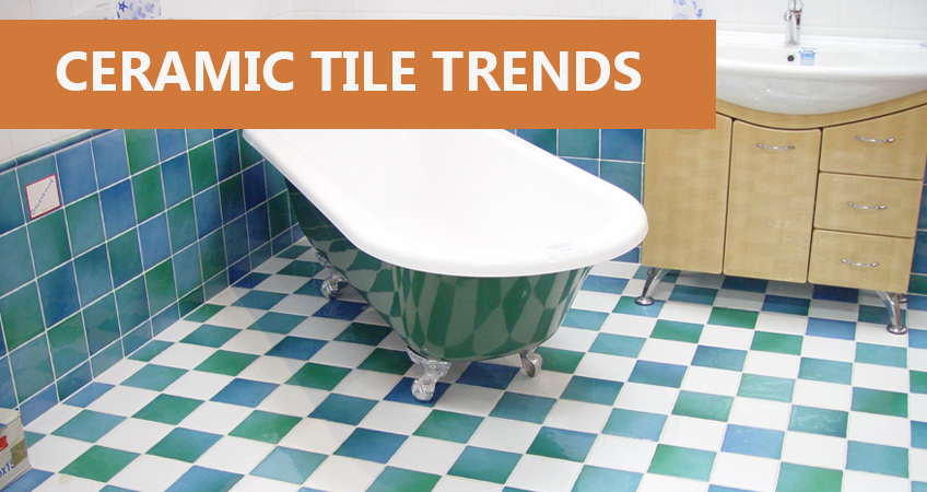 Amazing Ceramic Tile Trends For Your Bathroom JA Tiling Ltd - 6 different types wall tiles
