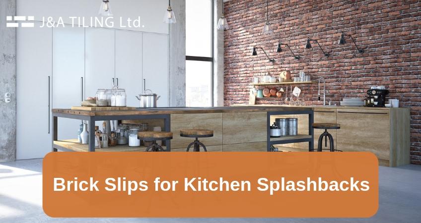Brick Slips For Kitchen Splashbacks Brick Effect Kitchen Walls