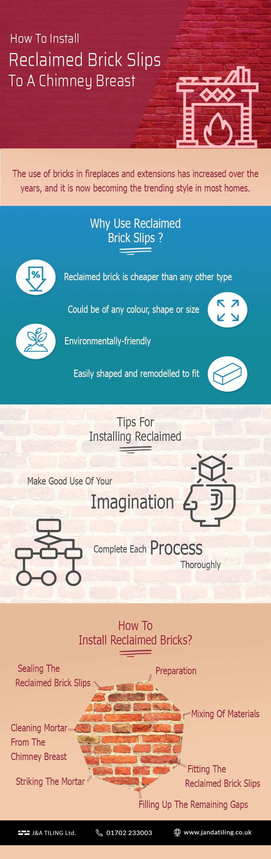reclaimed brick slips infographic